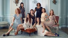 The Jezebel staff: From left: Editorial assistant Madeleine Davies, senior writer Tracie Egan Morrissey, staff writer Katie JM Baker, staff writer Lindy West, deputy editor Dodai Stewart, staff writer Erin Gloria Ryan, contributing editor Jenna Sauers, and editor-in-chief Jessica Coen. - Making me laugh everyday!