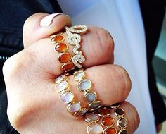 Diamond LOVE Ring from Jugar N Spice