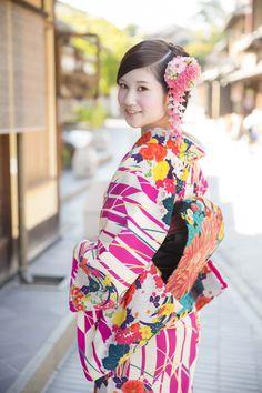 豆千代モダンの着物が、京都で気軽にレンタルできるようになりました!  京都着物レンタルhttp://kyotokimono-rental.com/ ...