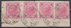 20700) SCHÖLLSCHITZ ZILOSICE Mähren LUXUS-Stempel 1896 auf Briefstück | eBay 5 S, Vintage World Maps, Ebay, Postage Stamps, Stamps, Luxury