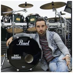 Want to become a #247drums #endorser and SAVE BIG + get extra visibility and become part of a large and fast growing #drumming family? Email us 247drums@gmail.com with ENDORSEMENT in the subject line.   Welcome to #Enrico #Bizzotto   #drums #drummer #drumporn #music #MusicCanChangeTheWorld #Winchester #Boston #Massachusetts #NewEngland #Sergio #Bellotti