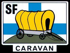 119308 Caravan, Logos, Decor, Art, Decoration, Decorating, Dekorasyon, Kunst, Dekoration