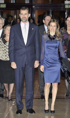 Prince Felipe and Princess Letizia of Spain