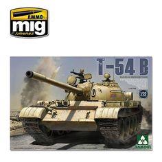RUSSIAN MEDIUM TANK T-54 B LATE TYPE 1/35 Takom