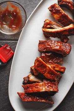 Oven baked ribsr