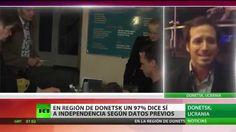 En la Región de Donetsk casi el 97% de los electores vota a favor de la ...