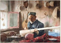 Fine Giclees - Archival Quality Prints of Guan Weixing Watercolor Paintings by Ambleside Gallery — Guan Weixing