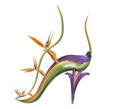 135 Best Shoe Fleur A Footwear Fantasy Images Flowers Shoe Art
