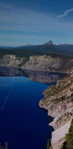 ✯ Crater Lake National Park Crater Lake National Park Photograph by Twenty Two North Photography Places To Travel, Places To See, Crater Lake National Park, National Parks Map, Amazing Nature, Travel Usa, The Great Outdoors, Beautiful Places, Scenery