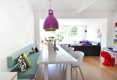 New kitchen table modern small open plan Ideas Kitchen Interior, New Kitchen, Kitchen Small, Küchen Design, Interior Design, Kitchen Wall Colors, Cuisines Design, Room Inspiration, Home Kitchens