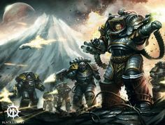 Perturabo and his Iron Warriors