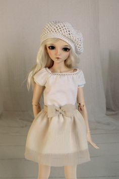 Skirt for minifee Narae Unoa BJD 1/4 size by ElenaShowRoom on Etsy