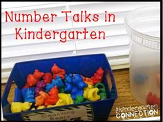 Kindergarten ideas - Number talks in Kindergarten. Ways to develop a stronger number sense in our young learners!