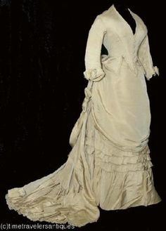 1885 wedding ensemble.