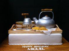Yerba Mate tea time cake/ Cebando Mate
