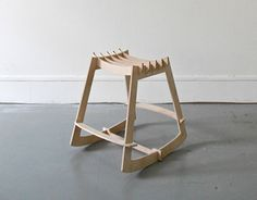 Rocking Stool Is A Small Swinging Stool. In Kit Form, The Seat Is Easy Idea