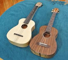 Thorough build of a ukulele, note the fret board steps