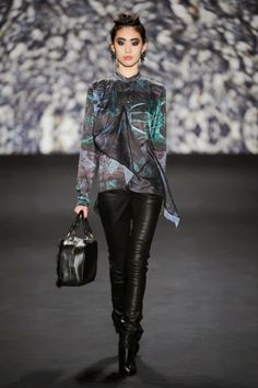 Nicole Miller - NYFW fall 2014