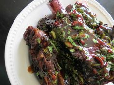 ribs! http://whatsdorothyeatingnow.com/2013/04/pressure-cooker-asian-style-beef-ribs/