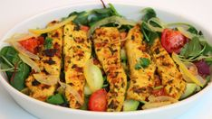 Grilled Chicken Moroccan Style