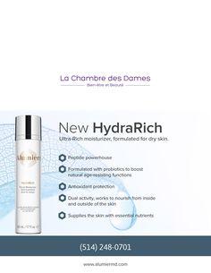 New HydraRich Moisturizer Has Arrived! Dry Skin, It Works, Moisturizer, Skin Care, News, Products, Moisturiser, Skincare, Skin Treatments