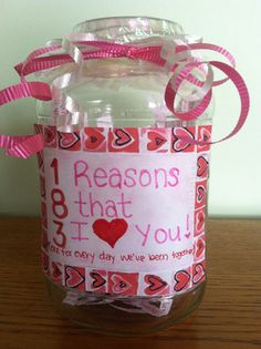 Cute 5 month anniversary gift! 153 M for how many days you ...