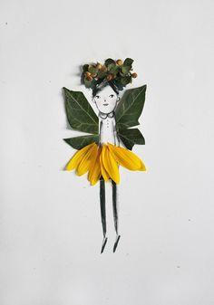 Bricolaje Naturaleza Artesanía - CREA TU PROPIO Flower Fairies - Mer Mag Blog Craft | Pequeño para Big