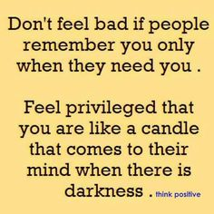 Candle in the darkness... great perspective!