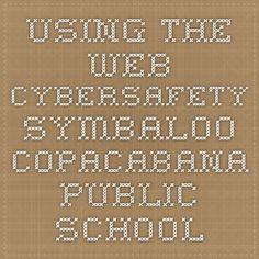 Using The Web - Cybersafety symbaloo Copacabana Public School