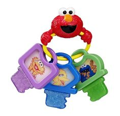 Sesame Street Clicky Keys Teether Toy Sesame Street http://www.amazon.com/dp/B0035ER5EW/ref=cm_sw_r_pi_dp_nKMHub0F9QB6P