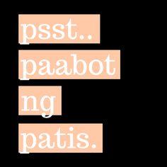 🐟😋👌 Pinoy, Manila, Filipino, Totes, Fun, Inspiration, Humor, Instagram, Biblical Inspiration