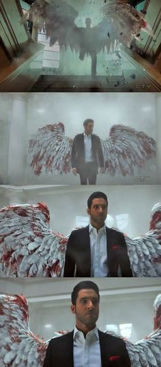 Lucifer knows how to make a good entrance #SaveLucifer