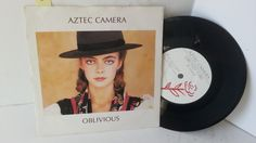 AZTEC CAMERA oblivious, 7 inch single, AZTEC 1 - SINGLES all genres, Including PICTURE DISCS, DIE-CUT, 7' 10' AND 12'