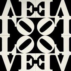 Visual Poetry - Love  #print #black #press #design #graphicdesign