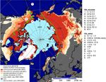 http://ift.tt/2pAZz0U that certain bacteria in Carbon poor areas of the Arctic (87% of Arctic Permafrost) consume atmospheric CH4 (Methane) and their methane uptake increases as temperature rises.