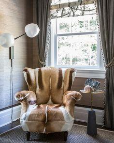 Designer Bradley Stephens featured Juicy Jute 4802 Slate in his room of the 2013 Hamptons Designer Showhouse.