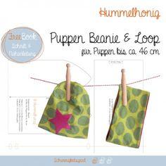 Puppen-Beanie und -Loop