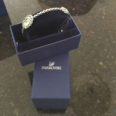 Swarovski bangle 1 HOUR ️SALE  Mint color . New with tag never used with box and the bag Swarovski Accessories