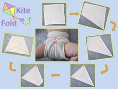 Prefold Cloth Diapers, Baby Sewing Projects, Plastic Pants, Kite, Baby Wearing, Baby Room, Origami, Kids Rugs, Diapering