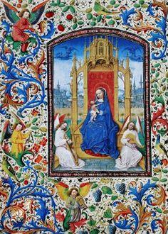 Stundenbuch der Maria von Burgund Wien. circa 1477. Unknown.