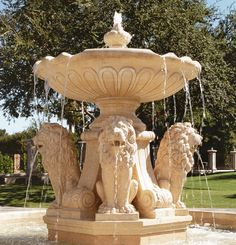 Stone Carved Marble Garden Water Fountains - We are manufacturer, exporters and suppliers. You can contact us at www. Garden Water Fountains, Stone Fountains, Water Garden, Casa Kardashian, Outdoor Landscaping, Outdoor Decor, Porches, Small Water Features, Fountain Design