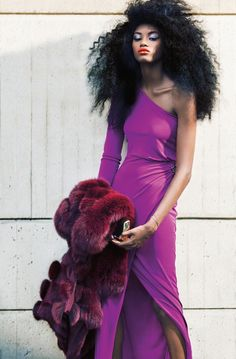 Miyanda and Adonis Pop in Colorful Style for Dress to Kill's Winter Issue by Jorge Camarotti