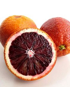 In Season: Popular for centuries in Spain and Italy, blood oranges are now being cultivated in the United States. Look for blood oranges in specialty supermarkets from November through May. What to Look For: Blood oranges are somewhat smaller than navel oranges, and often have pitted skin mottled with hints of red; the interior flesh is deep crimson. The flavor is sweeter and less tart than other oranges, and may have hints of raspberry or a slightly bitter edge. Choose firm, plump…
