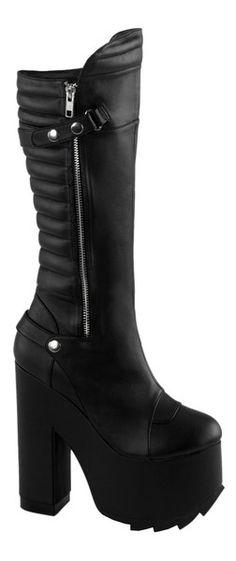 134c3d3f11e9 CRAMPS-200+Black+Vegan+Boots Alternative Shoes