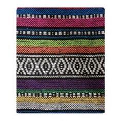 Tribal Native Print Throw Blanket