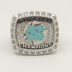 Custom 2011 North Carolina Tar Heels ACC Elite 8 Basketball Championship Ring