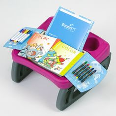 The ZoomART insert is a fabulous creative kit for on-the-go! Keep several ZoomART and ZoomPLAY kits on hand to keep your child busy while on the go! Magic For Kids, Matching Games, Book Activities, Your Child, Coloring Books, Boy Or Girl, Entertaining, Kit, Space