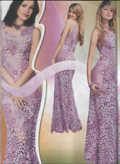 SPECIAL Duplet  Irish Lace 3  Crochet Patterns Magazine  women's dress top skirt cardigan Dress. $17,90, via Etsy.