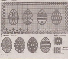 Easter Crochet Patterns, Crochet Doll Pattern, Crochet Dolls, Cross Stitch Books, Cross Stitch Charts, Cross Stitch Patterns, Fillet Crochet, Easter Cross, Cross Stitch Pictures