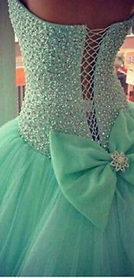 New Beaded Quinceanera Dresses Prom/Formal/Ball Gown Pageant Wedding Dress